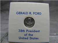 Gerald R. Ford Presidential Sterling Mini-Coin (Franklin Mint, 1974)