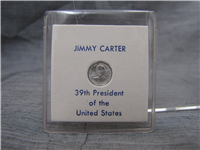 Jimmy Carter Presidential Sterling Mini-Coin (Franklin Mint, 1977)