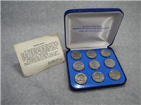 1979-1980-1981 P-D-S Susan B. Anthony Dollar 9 Coin BU Set (US Mint)