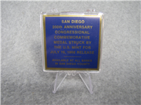 San Diego 200th Anniversary Congressional Medal (US Mint, 1968)