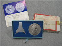 The Official Richard Nixon Inaugural Pure Silver Medal (Medallic Art Co., 1969)