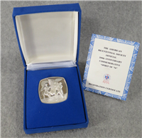 The American Bicentennial Society Official 200th Anniversary Commemorative 'Spirit of '76' Medal  (Lincoln Mint, 1975)