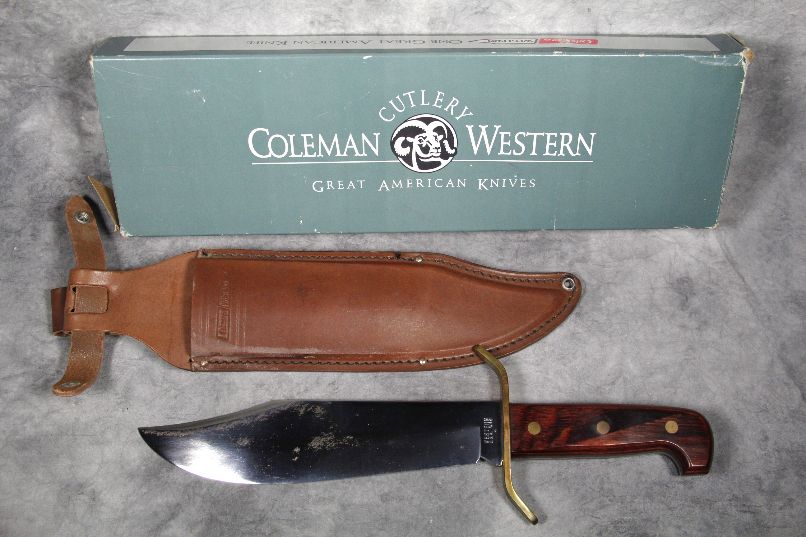 western bowie w49 dating Category fixed blade item # klc08350 maker western knives model w49 bowie tang full main blade length & type 9 1/4 clip blade steel carbon steel handle material.