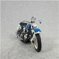 "The 1936 Harley-Davidson EL ""Knucklehead"" Die Cast Motorcycle 1:24 Replica (Franklin Mint)"