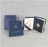 $5 Gold American Eagle Proof in Box with COA (US Mint, 2004W)
