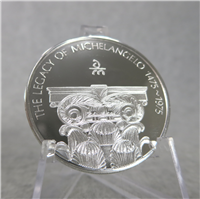LEGACY OF MICHELANGELO MEDALS COLLECTION  (Danbury Mint, 1975)