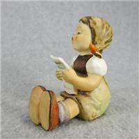 GIRL WITH SHEET OF MUSIC 2-5/8 inch Figurine  (Hummel 389, TMK 5)