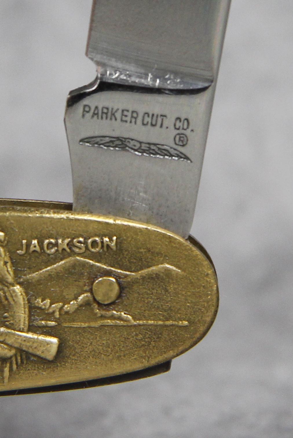 1982 Parker Cut Co World S Fair Official Folding Pocket