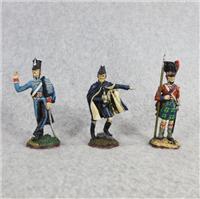 THE GREAT REGIMENTS OF WATERLOO Fine Pewter 2-1/2 inch Statues (Franklin Mint, 1979)