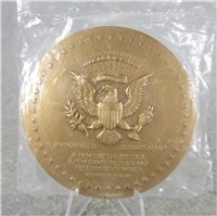 "RICHARD NIXON (1st Term) 3"" Bronze Inaugural Medal (U.S. Mint Presidential Series, #138)"