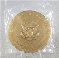 "LYNDON B. JOHNSON 3"" Bronze Inaugural Medal (U.S. Mint Presidential Series, #136)"