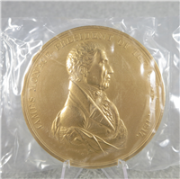 "JAMES MONROE 3"" Bronze Commemorative Medal (U.S. Mint Presidential Series, #105)"