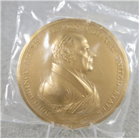 "JOHN QUNICY ADAMS 3"" Bronze Commemorative Medal (U.S. Mint Presidential Series, #106)"