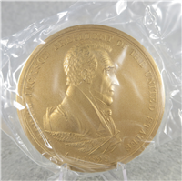 "ANDREW JACKSON 3"" Bronze Commemorative Medal (U.S. Mint Presidential Series, #107)"