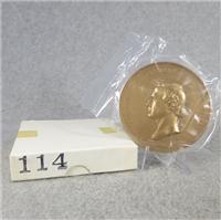 "FRANKLIN PIERCE 3"" Bronze Commemorative Medal (U.S. Mint Presidential Series, #114)"