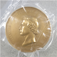 "FRANKLIN PIERCE 3"" Bronze Commemorative Medal (U.S. Mint Presidential Series, #114)"