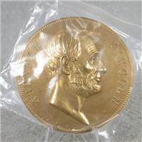 "ABRAHAM LINCOLN 3"" Bronze Inaugural/Memorial Medal (U.S. Mint Presidential Series, #116)"