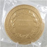 "RUTHERFORD B. HAYES 3"" Bronze Inaugural Medal (U.S. Mint Presidential Series, #119)"