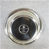 Butterflies of the World AUSTRALIA Limoges Enamel on Sterling Silver 8 inch Plate (Franklin Mint, 1977)