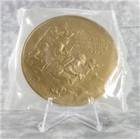 "MARINE CORPS Bicentennial Commemorative 3"" Bronze Medal (Medallic Art, 1975)"