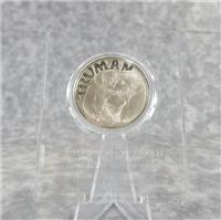 Harry Truman Judaic Heritage Society Commemorative Silver Medal (Franklin Mint, 1973)