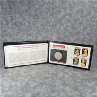 Fleetwood 'Cornerstones of Freedom' Proof CONSTITUTION Silver Dollar First Day Cover (U.S. Mint, 1987)