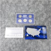 USA 5 Coins Proof Set 50 State Quarters (U.S. Mint, 2007)