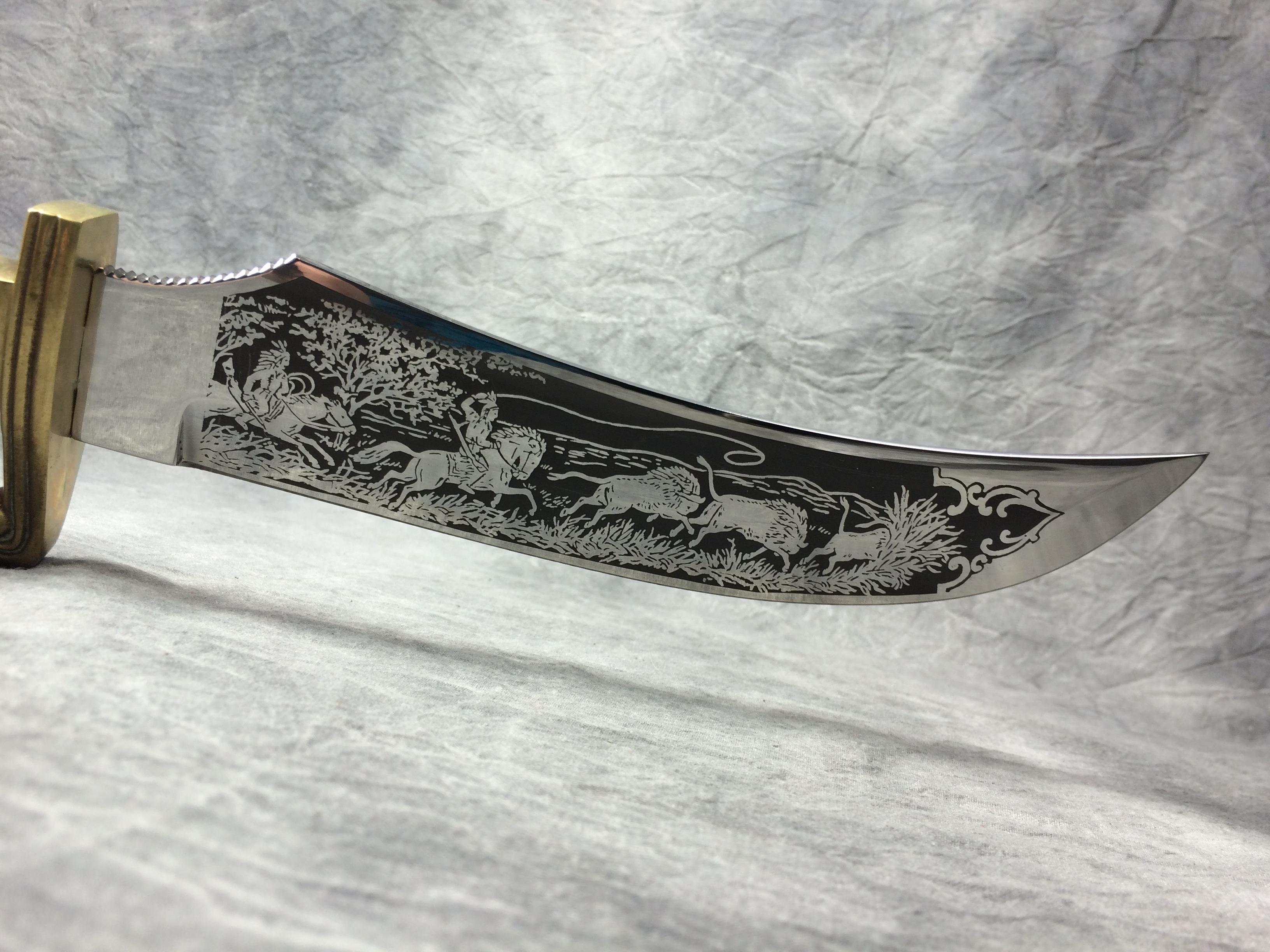 linder messer rehwappen solingen 13 1 2 stag bowie knife with sheath current market value. Black Bedroom Furniture Sets. Home Design Ideas