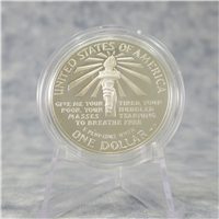Statue of Liberty Commemorative Silver $1 Dollar Proof Coin (US Mint, 1986)