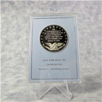 The Operation Desert Storm Eyewitness Commemorative Medal  (Franklin Mint, 1991)