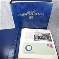 The Great American Places Medallic Postal Cachet Collection  (Westport Collectors Society, 1973)
