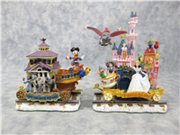 DISNEYLAND EXPRESS 6-Piece Complete Set of Train Figurines  (Danbury Mint, Disney)