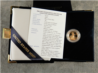 2000 W $5 1/10 Ounce Gold American Eagle Proof in Box with COA