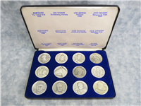 CAVALCADE OF SPORTS SERIES 1967 Fine Silver Medal Collection (The Medal Arts Co.)