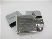 JOHN DEERE Etched Logo Brushed Chrome Lighter (Zippo, 2000)