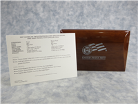 American Eagle 10th Anniversary Platinum Coin Set of (2) 1/2 Ounce $50 Coins with Box and COA (US Mint, 2007)