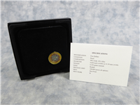 United States Army Commemorative Proof Gold $5 Coin with Box and COA (US Mint, 2011-W)