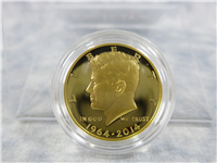 Kennedy 50th Anniversary 3/4 Ounce Gold Half Dollar Proof Coin with Box & COA (US Mint, 2014-W)