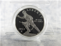 United States Army Infantry Soldier Commemorative Silver Proof Dollar in Box with COA (US Mint, 2012-W)