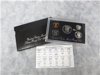 5 Coins 90% Silver Proof Set with Black Box & COA (US Mint, 1993)