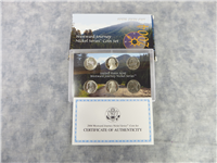 Westward Journey Nickel Series 6-Coin Set  (US Mint, 2004)
