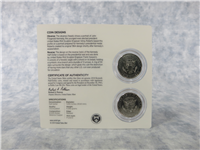 Kennedy Half-Dollar 50th Anniversary Uncirculated 2-Coin Set (US Mint, 2014)