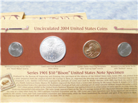 2004 Lewis and Clark Coinage And Currency Set (US Mint)