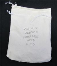 USA Unopened Bag $100 Face Value Susan B. Anthony Dollars  (U.S. Mint, 1979)