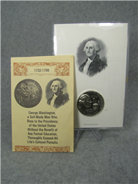 George Washington Sterling Medal  (Wittnauer Mint, 1972)