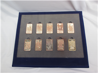 The 10 Ten Precious Freedoms Ingot Collection   (Wittnauer Mint, 1973)