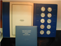 The 50 Fifty States Bicentennial Commemorative Medals Collection  (Franklin Mint, 1975)