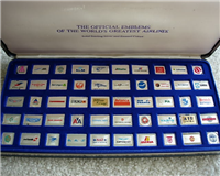 The Official Emblems of the World's Greatest Airlines Mini Ingots  (Franklin Mint)