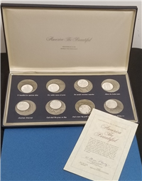 The America The Beautiful Medals Collection   (Franklin Mint, 1976)