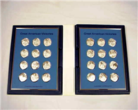 The American Legion Medallic Treasury of Great American Victories Medals  (Franklin Mint)